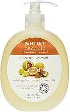 "Voňavky, Parfémy, kozmetika Tekuté mydlo na ruky ""Detox"" - Bentley Organic Body Care Detoxifying Handwash"