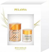 Voňavky, Parfémy, kozmetika Sada - Pulanna Bio-Gold (cr/60g + eye/gel/21g)