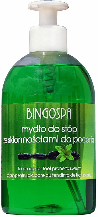 Nožné mydlo so sklonom k poteniu - BingoSpa Soap For Feet Prone To Sweat