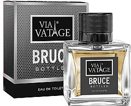 Voňavky, Parfémy, kozmetika Via Vatage Bruce Bottled - Toaletná voda