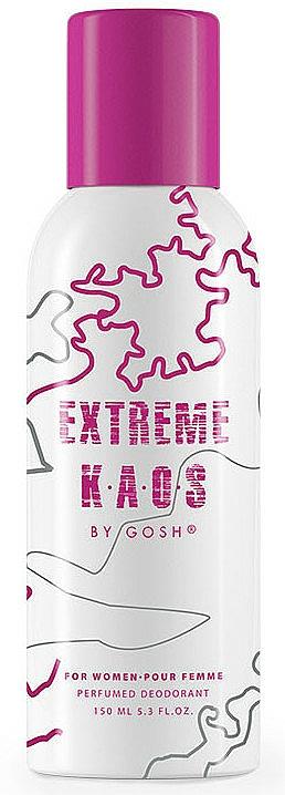 Gosh Extreme Kaos For Women - Dezodorant v spreji