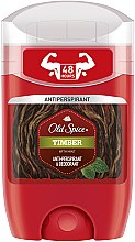 Voňavky, Parfémy, kozmetika Tuhý deodorant - Old Spice Timber Deodorant Stick