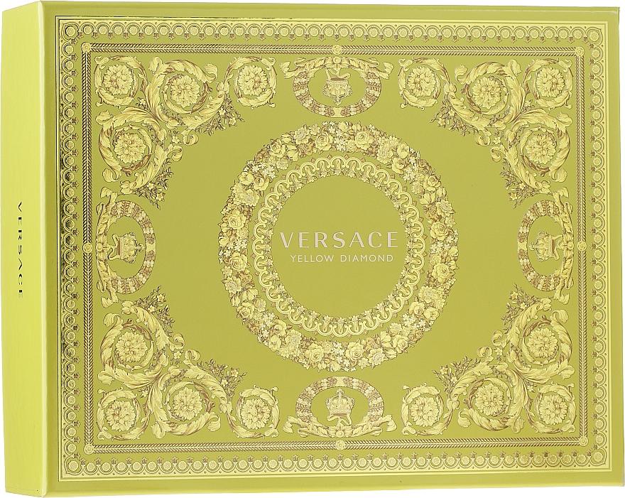 Versace Yellow Diamond - Sada (edt/50ml + b/lot/50ml + sh/gel/50ml)