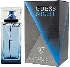 Voňavky, Parfémy, kozmetika Guess Guess Night - Toaletná voda (tester bez uzáveru)