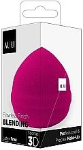 Voňavky, Parfémy, kozmetika Špongia na líčenie, ružová - Auri Flawless Finish Blending Sponge 3D