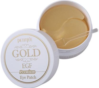 Hydrogélové náplasti pod oči Preminum so zlatom a EGF - Petitfee & Koelf Premium Gold & EGF Eye Patch