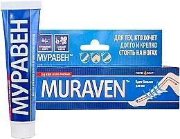 Voňavky, Parfémy, kozmetika Krémový balzam na nohy Muraven s mravčím liehom a konským gaštanom - Shuster Pharmaceutical