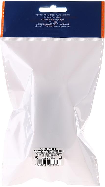 Kefka na ruky s pemzou obdĺžniková, 71058, hnedá - Top Choice — Obrázky N3