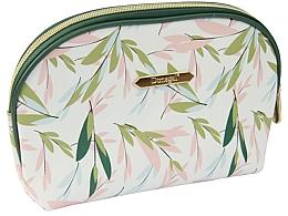 """Voňavky, Parfémy, kozmetika Kozmetická taška """"Spring Flower"""" veľká 4996, biela so zelenou - Donegal"""