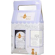 Voňavky, Parfémy, kozmetika Sada - NeBiolina Baby Gift Set II (body/hair/fluid/500ml+oil/100ml)
