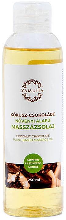 "Masážny olej ""Kokos-čokoláda"" - Yamuna Coconut-Chocolate Plant Based Massage Oil"