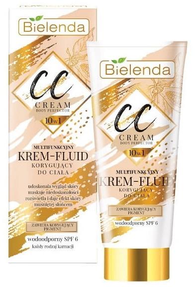 CC krém-fluid na telo - Bielenda Magic CC 10in1 Body Correction Cream Waterproof Tanning Effect SPF6