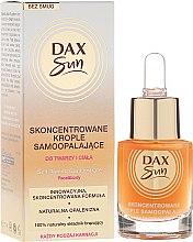Voňavky, Parfémy, kozmetika Koncentrát pre opaľovanie - Dax Sun Self-tanning Concentrated Drops