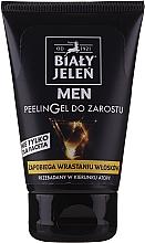 Voňavky, Parfémy, kozmetika Peelingový gél na bradu - Bialy Jelen Men Peelin Gel