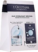 Voňavky, Parfémy, kozmetika Sada - L'Occitane Aqua Reotier (cr/50ml + mask/6ml)