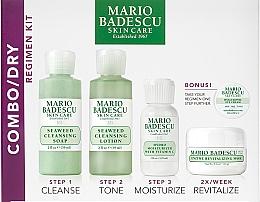 Voňavky, Parfémy, kozmetika Sada - Mario Badescu Combo Dry Regimen Kit (gel/59ml+lot/59ml+cr/29ml+mask/14g+eye/cr/3g)