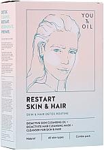 Voňavky, Parfémy, kozmetika Terapia na tvár a vlasy - Restart Skin & Hair. 3 in 1 Bundle