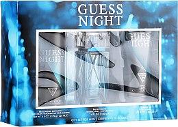 Voňavky, Parfémy, kozmetika Guess Night - Zestaw (edt/100ml + sh/gel/200ml + deo/226ml)