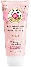 """Voňavky, Parfémy, kozmetika Jemný sprchový krém """"Ruža"""" - Roger & Gallet Rose Gentle Shower Cream Relaxing"""