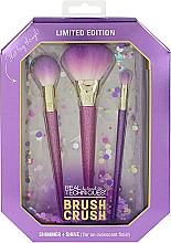 Voňavky, Parfémy, kozmetika Sada štetcov na líčenie, 18 ks - Real Techniques Brush Crush Shimmer & shine Set