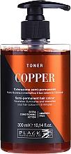 Voňavky, Parfémy, kozmetika Farbiaci toner na vlasy - Black Professional Line Crazy Toner