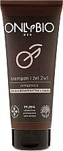 Voňavky, Parfémy, kozmetika Šampón-gél pre mužov - Only Bio