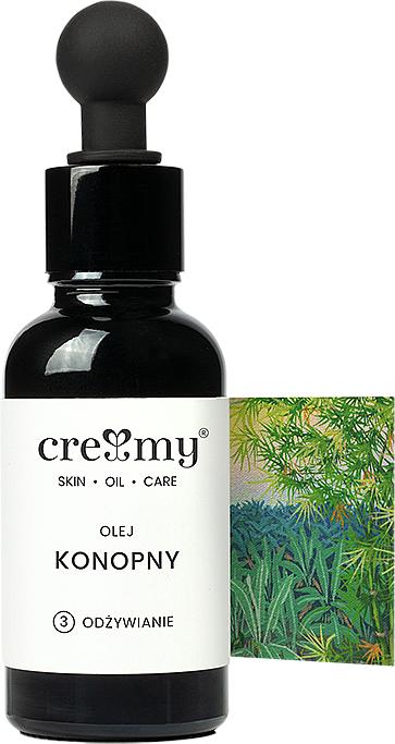Nerafinovaný konopný olej - Creamy