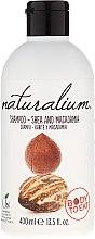 """Voňavky, Parfémy, kozmetika Šampón s účinkom kondicionéra """"Shea and Macadamia"""" - Naturalium Shea & Macadamia Shampoo"""