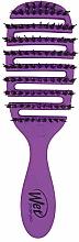 Voňavky, Parfémy, kozmetika Kefa na dodanie vlasom lesku, fialová - Wet Brush Pro Flex Dry Shine Enhancer Purple