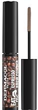 Voňavky, Parfémy, kozmetika Púder na obočie - Dermacol Eat Me Espresso Eyebrow Powder