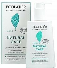 """Voňavky, Parfémy, kozmetika Gél na intímnu hygienu """"Denná starostlivosť"""" - Ecolatier Natural Care"""