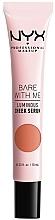 Voňavky, Parfémy, kozmetika Žiarivé sérum na líca - NYX Professional Makeup Bare With Me Shroombiotic Cheek Serum