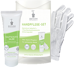 Voňavky, Parfémy, kozmetika Sada na ruky - Bioturm Hand Care Set (cr/50ml + gloves)