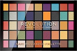 Voňavky, Parfémy, kozmetika Paleta očných tieňov, 45 odtieňov - Makeup Revolution Maxi Reloaded Palette