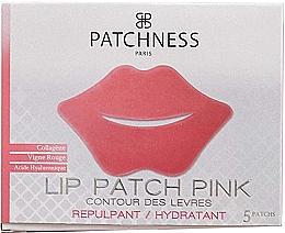 Voňavky, Parfémy, kozmetika Náplasti na pery s extraktom z červeného hrozna - Patchness Lip Patch Pink