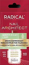 Voňavky, Parfémy, kozmetika Koncentrovaný rekonštrukčný prostriedok na nechty - Farmona Radical Nail Architect