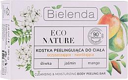 Voňavky, Parfémy, kozmetika Čistiaci a hydratačný peeling na telo - Bielenda Eco Nature Cleansing & Moisturizing Body Peeling Bar