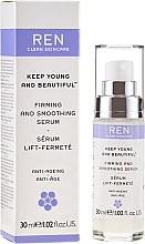 Voňavky, Parfémy, kozmetika Spevňujúce a vyhladzujúce sérum na tvár - Ren Keep Young and Beautiful Smoothing Serum