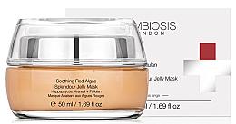 Voňavky, Parfémy, kozmetika Upokojujúca želéová maska s červenými riasami - Symbiosis London Soothing Red Algae Splendour Jelly Mask