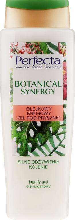 """Krém-gél pre sprch """"Arganový olej a bobule goji"""" - Perfecta Botanical Synergy"""