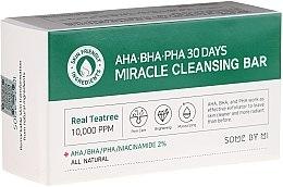 Voňavky, Parfémy, kozmetika Mydlo na tvár - Some By Mi AHA/BHA/PHA 30 Days Miracle Cleansing Bar
