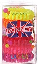 Voňavky, Parfémy, kozmetika Gumičky do vlasov - Ronney Professional Funny Ring Bubble 6