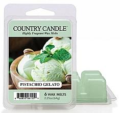 Voňavky, Parfémy, kozmetika Vosk pre aromatickú lampu - Country Candle Pistachio Gelato Wax Melts