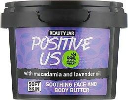 """Voňavky, Parfémy, kozmetika Telový krém """"Positive Us"""" - Beauty Jar Soothing Face And Body Butter"""