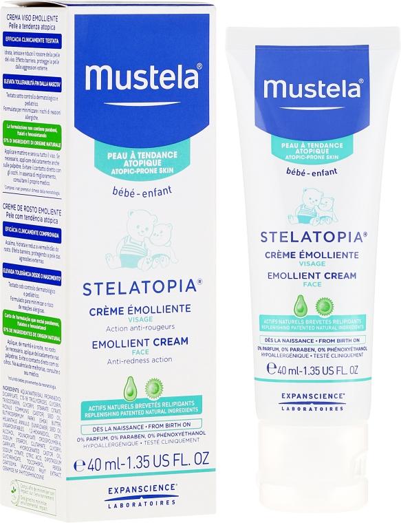 Zvláčňujúci krém na tvár - Mustela Bebe Emollient Cream