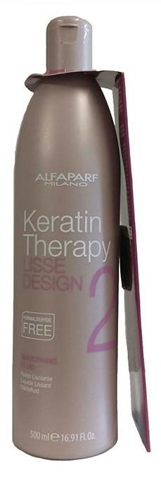 Vyrovnávacia tekutina na vlasy - Alfaparf Lisse Design Keratin Smoothing Fluid
