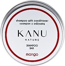 Voňavky, Parfémy, kozmetika Šampón na vlasy 2 v 1, v kovovej nádobe - Kanu Nature Shampoo With Conditioner Shampoo Bar Mango