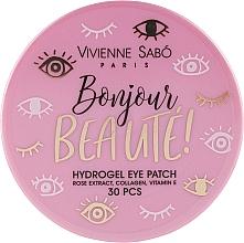 Voňavky, Parfémy, kozmetika Hydrogélové náplasti pod oči - Vivienne Sabo Bonjour, Beaute! Hydrogel