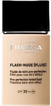 Voňavky, Parfémy, kozmetika Tónovací fluid - Filorga Flash Nude SPF 30