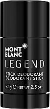 Voňavky, Parfémy, kozmetika Montblanc Legend Stick - Deodorant